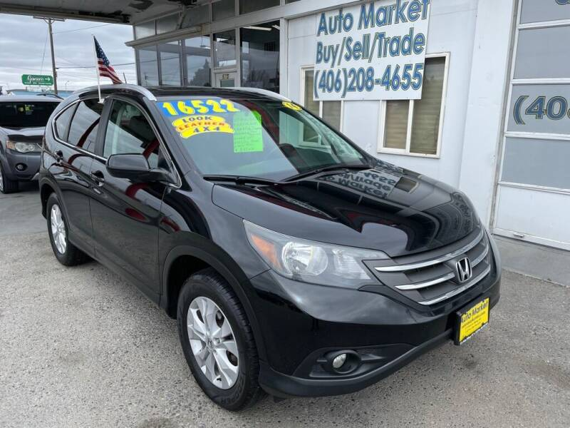 2014 Honda CR-V for sale at Auto Market in Billings MT