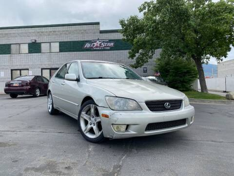 2003 Lexus IS 300 for sale at All-Star Auto Brokers in Layton UT