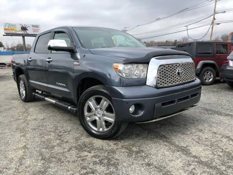 2008 Toyota Tundra for sale at Mass Motors LLC in Worcester MA