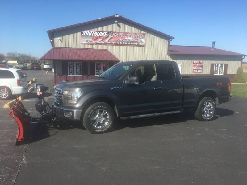 2016 Ford F-150 for sale at Southlake Body Auto Repair & Auto Sales in Hebron IN