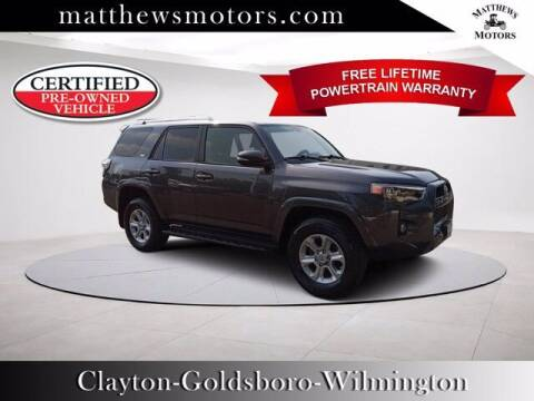 2018 Toyota 4Runner for sale at Auto Finance of Raleigh in Raleigh NC