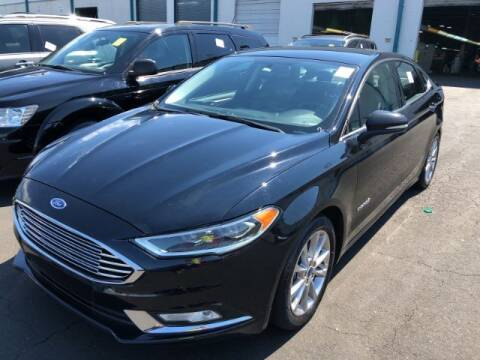 2017 Ford Fusion Hybrid for sale at Adams Auto Group Inc. in Charlotte NC