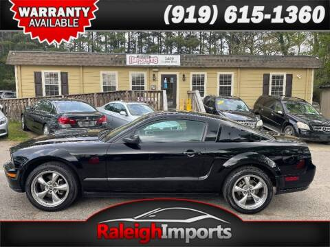 2005 Ford Mustang for sale at Raleigh Imports in Raleigh NC
