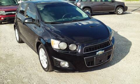 2012 Chevrolet Sonic for sale at Pinellas Auto Brokers in Saint Petersburg FL