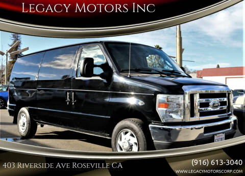 2013 Ford E-Series Cargo for sale at Legacy Motors Inc in Roseville CA