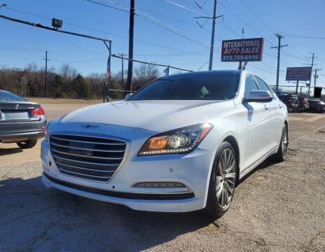 2015 Hyundai Genesis for sale at International Auto Sales in Garland TX
