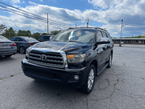 2013 Toyota Sequoia for sale at Signal Imports INC in Spartanburg SC