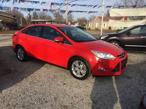 2012 Ford Focus for sale at Antique Motors in Plymouth IN