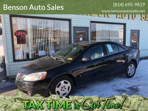 2006 Pontiac G6 for sale at Superior Auto Sales in Duncansville PA