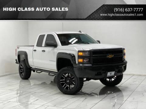 2015 Chevrolet Silverado 1500 for sale at HIGH CLASS AUTO SALES in Rancho Cordova CA