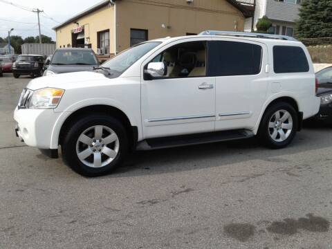 2011 Nissan Armada for sale at Nelsons Auto Specialists in New Bedford MA