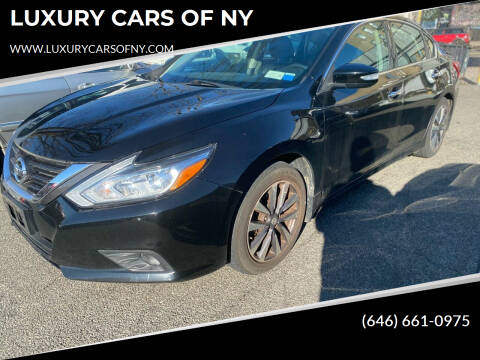 2016 Nissan Altima for sale at LUXURY CARS OF NY in Queens NY