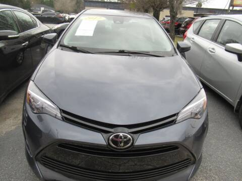 2017 Toyota Corolla for sale at Maluda Auto Sales in Valdosta GA