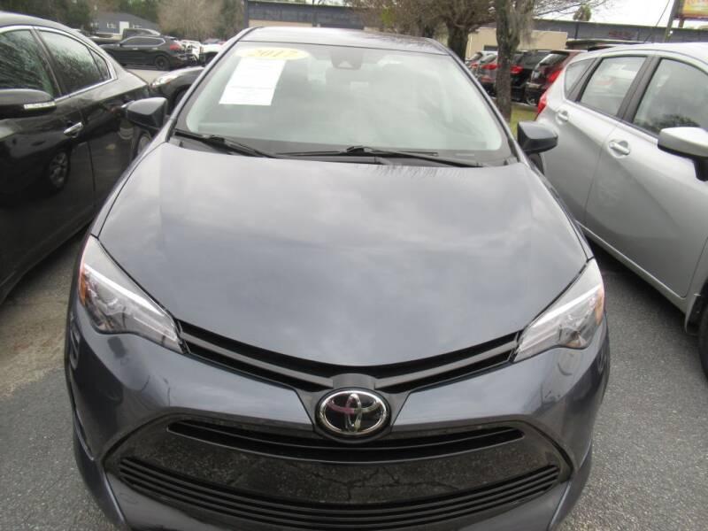 2017 Toyota Corolla for sale at Maluda Auto Sales in Valdosta GA