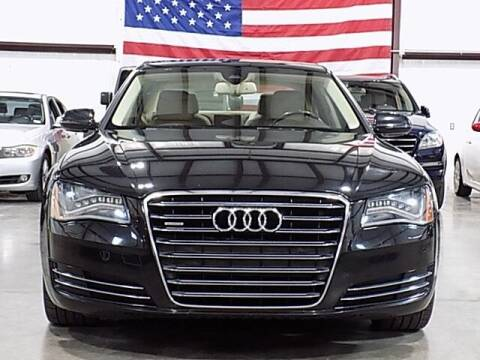 2012 Audi A8 L for sale at Texas Motor Sport in Houston TX