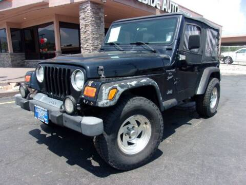 2001 Jeep Wrangler for sale at Lakeside Auto Brokers Inc. in Colorado Springs CO