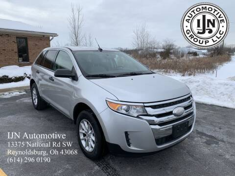 2013 Ford Edge for sale at IJN Automotive Group LLC in Reynoldsburg OH