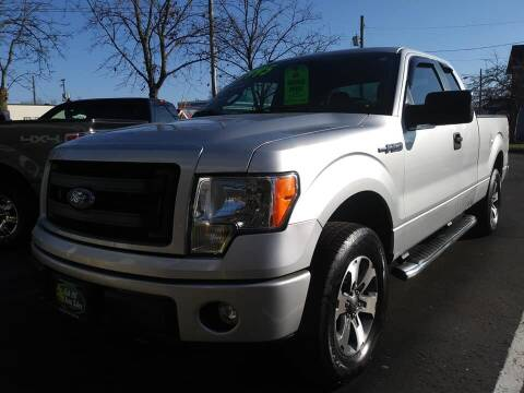 2014 Ford F-150 for sale at Oak Hill Auto Sales of Wooster, LLC in Wooster OH