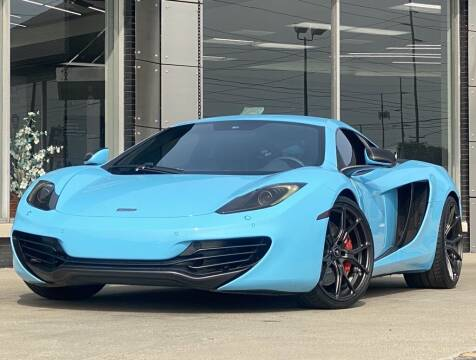 2012 McLaren MP4-12C for sale at Carmel Motors in Indianapolis IN