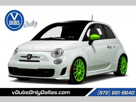 2013 FIAT 500 for sale at VDUBS ONLY in Dallas TX