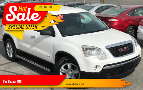 2010 GMC Acadia for sale at Car Bazaar INC in Salt Lake City UT