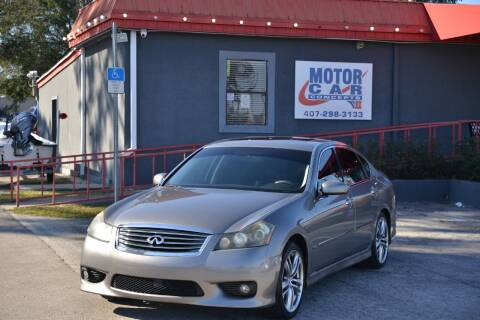 2009 Infiniti M35 for sale at Motor Car Concepts II - Kirkman Location in Orlando FL
