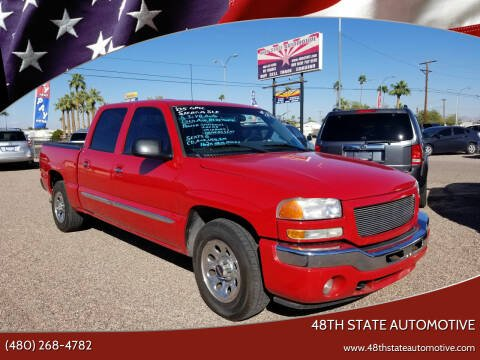 2005 GMC Sierra 1500 for sale at 48TH STATE AUTOMOTIVE in Mesa AZ