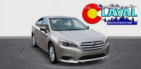 2015 Subaru Legacy for sale at Layal Automotive in Englewood CO