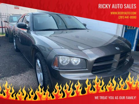 2009 Dodge Charger for sale at Ricky Auto Sales in Houston TX