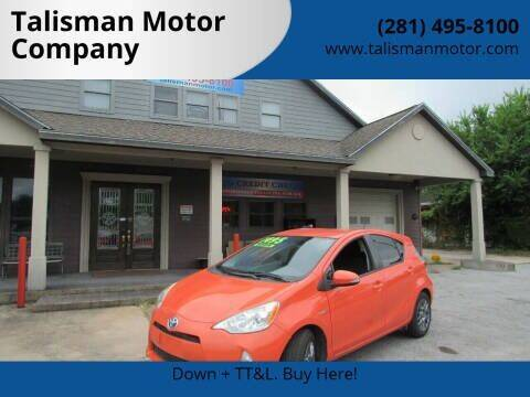 2014 Toyota Prius c for sale at Don Jacobson Automobiles in Houston TX