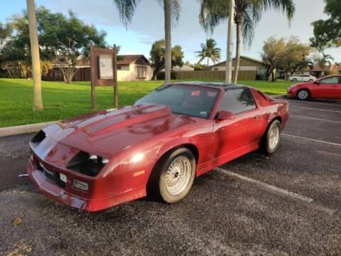 1985 Chevrolet Camaro for sale at Classic Car Deals in Cadillac MI