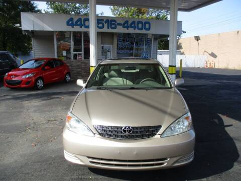 2003 Toyota Camry for sale at Elite Auto Sales in Willowick OH