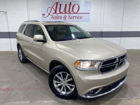 2014 Dodge Durango for sale at Auto Sales & Service Wholesale in Indianapolis IN