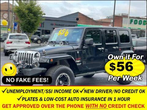 2008 Jeep Wrangler Unlimited for sale at AUTOFYND in Elmont NY