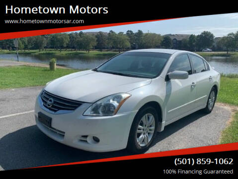 2011 Nissan Altima for sale at Hometown Motors in Maumelle AR