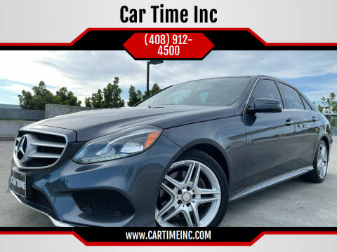 2014 Mercedes-Benz E-Class for sale at Car Time Inc in San Jose CA