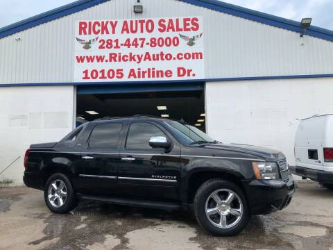 2011 Chevrolet Avalanche for sale at Ricky Auto Sales in Houston TX