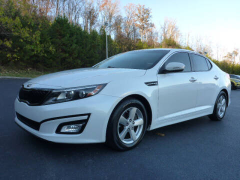 2015 Kia Optima for sale at RUSTY WALLACE KIA OF KNOXVILLE in Knoxville TN