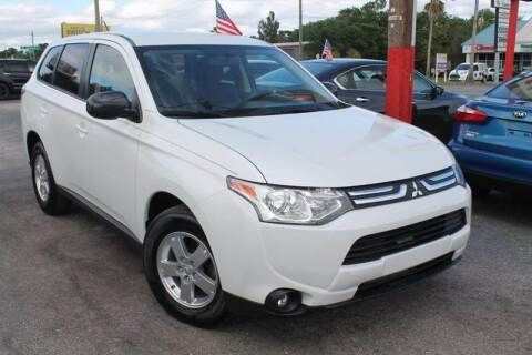 2014 Mitsubishi Outlander for sale at Mars auto trade llc in Kissimmee FL