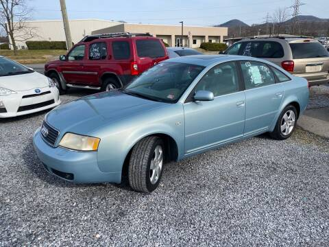 2002 Audi A6 for sale at Bailey's Auto Sales in Cloverdale VA