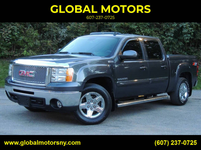 2011 GMC Sierra 1500 for sale at GLOBAL MOTORS in Binghamton NY