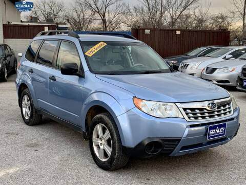 2011 Subaru Forester for sale at Stanley Direct Auto in Mesquite TX