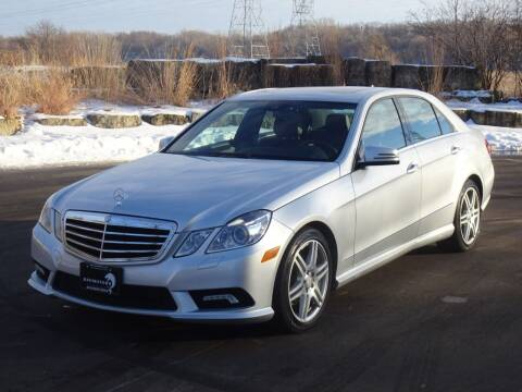 2010 Mercedes-Benz E-Class for sale at RAVMOTORS in Burnsville MN