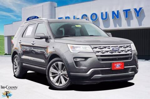 2018 Ford Explorer for sale at TRI-COUNTY FORD in Mabank TX