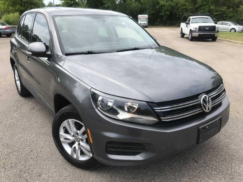 2013 Volkswagen Tiguan for sale at The Auto Depot in Raleigh NC