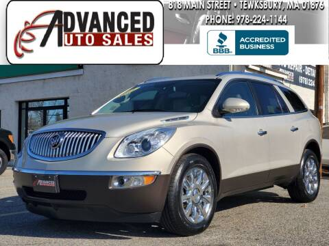 2011 Buick Enclave for sale at Advanced Auto Sales in Tewksbury MA