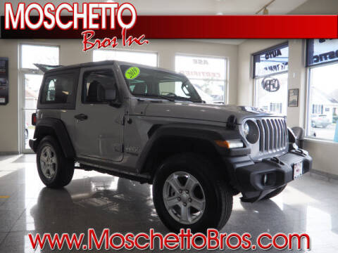 2019 Jeep Wrangler for sale at Moschetto Bros. Inc in Methuen MA