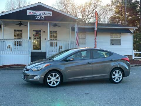 2011 Hyundai Elantra for sale at CVC AUTO SALES in Durham NC