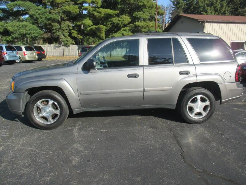 2008 Chevrolet TrailBlazer for sale at Home Street Auto Sales in Mishawaka IN