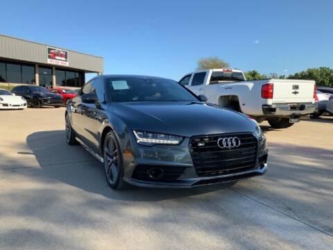 2017 Audi S7 for sale at KIAN MOTORS INC in Plano TX